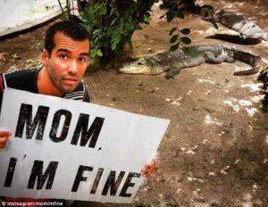 'Mom, I'm fine'