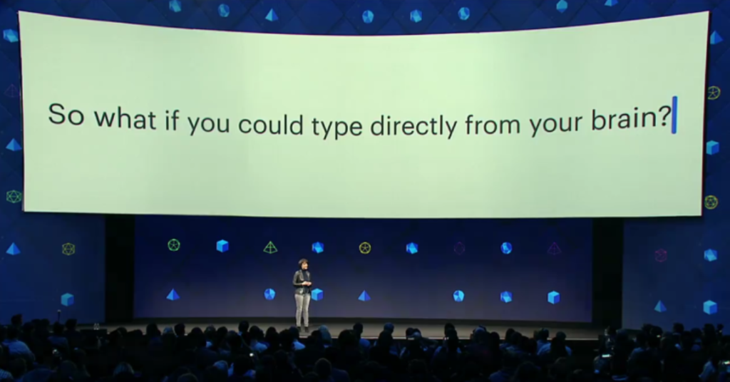 Facebook soon to allow you to type using your thoughts!