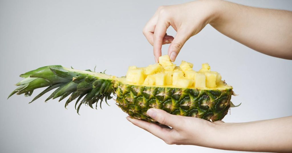 Pineapples – The fruit with a tangy flavor as well!