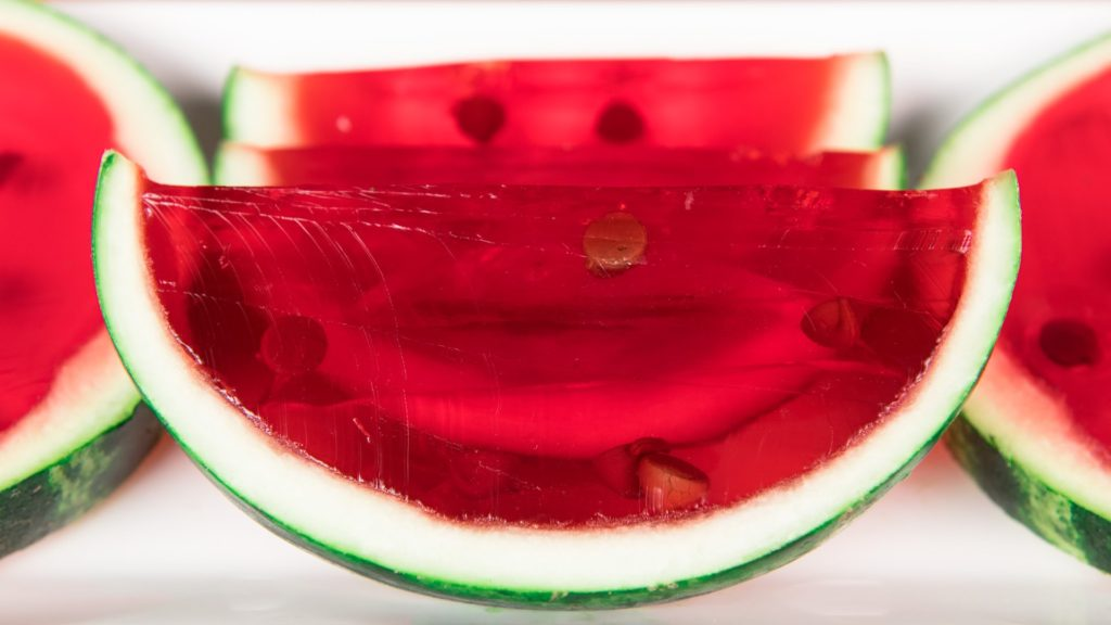 Watermelon Jelly is the best remedy for summer