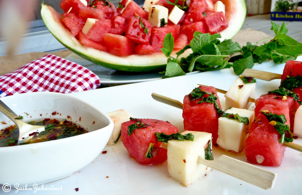 Watermelon Mozzarrella Salad health benefits for summer