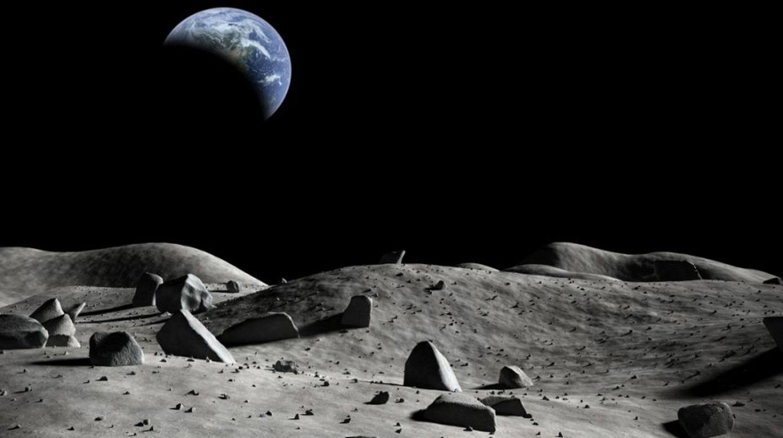 Lunar base moon village