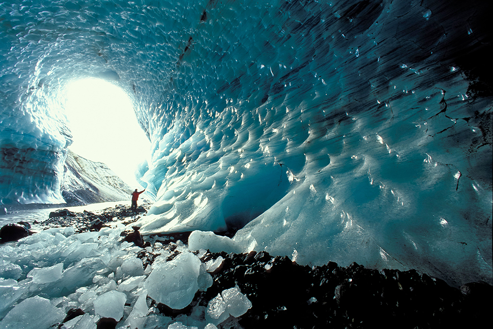 Ice Cavern –Skattafel, Iceland