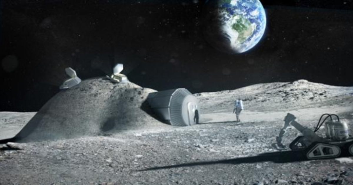 Lunar Base Moon Village Reality by 2020