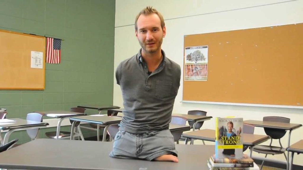 Nick Vujicic life story man with no limbs