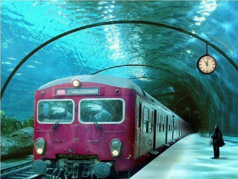 Indian railways - Underwater