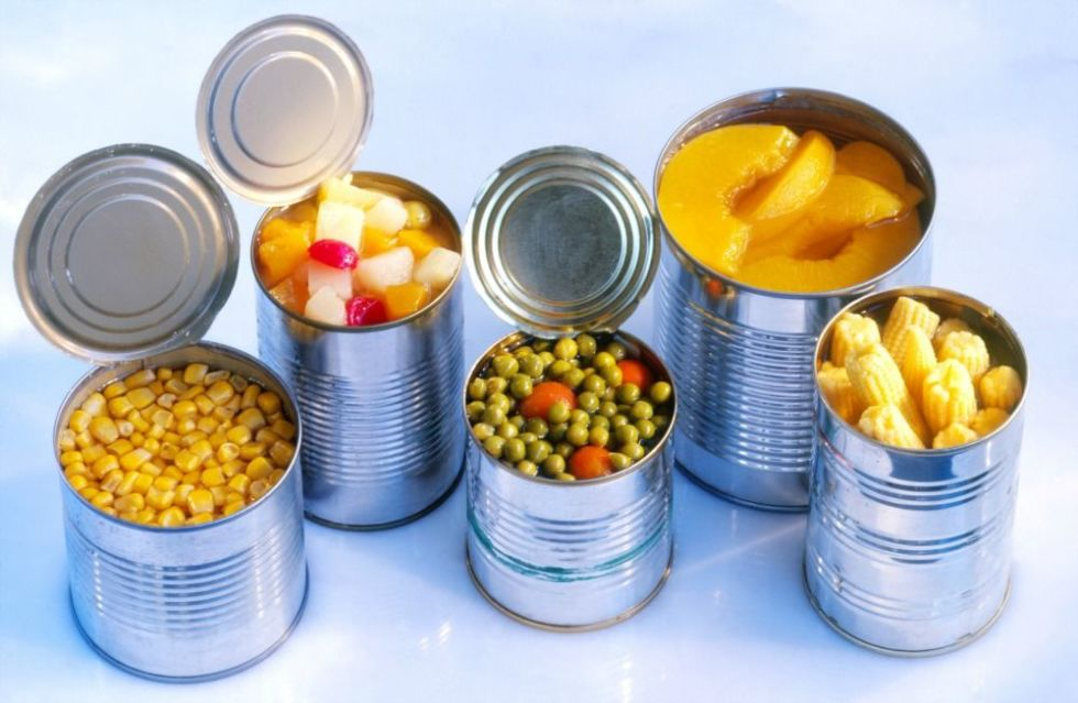 Canned food, Cancer Causing Foods