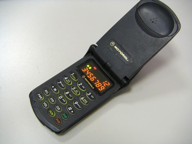 Motorola StarTac best old smartphone