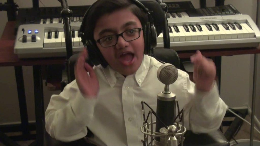 This boy is Amazing..! Sparsh, A big Eminem fan