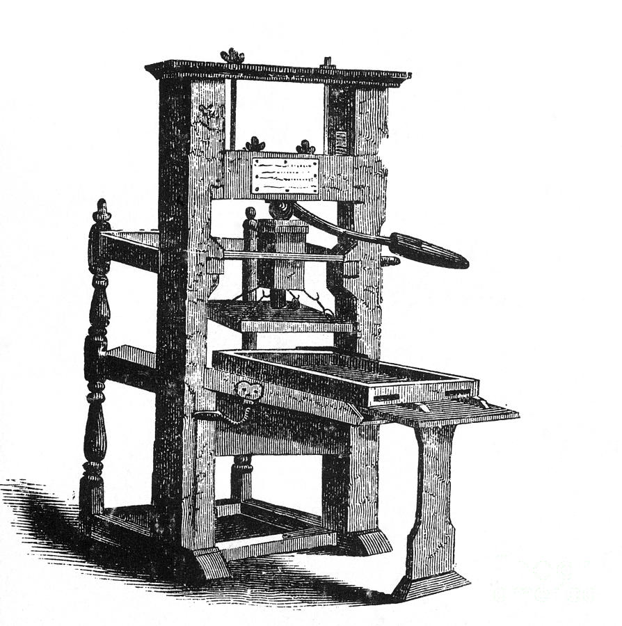 The Printing press is one of the World top 10 inventions