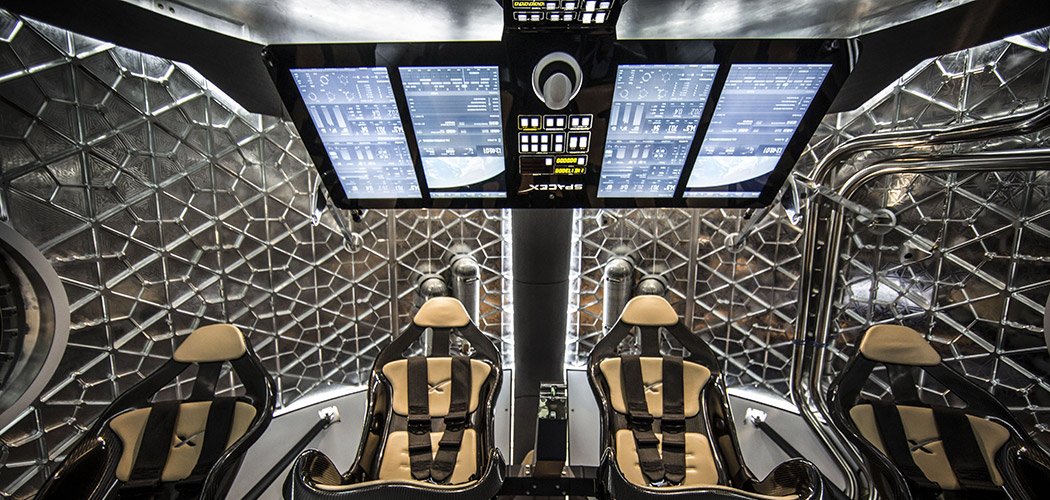 Elon Musk SpaceX Crew Dragon