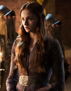 Alia Bhatt as Sansa Stark in Game of Thrones