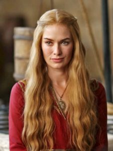 Bollywood actor Aishwarya Rai Bachchan as Cersei Lannister in Game of Thrones characters