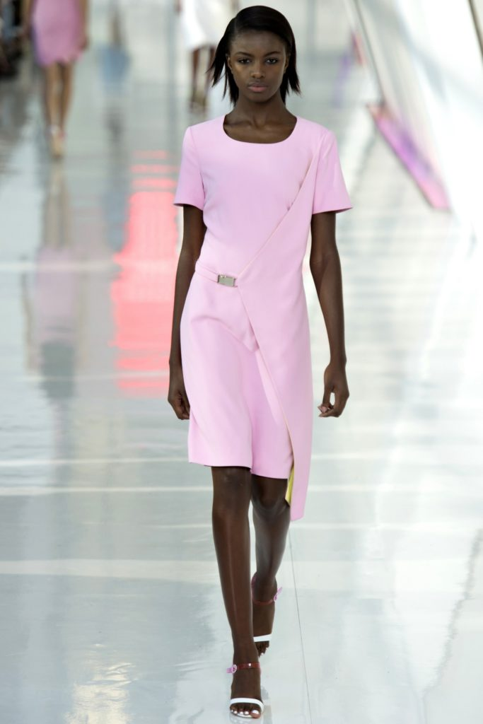 preen's pale pink runway in FALL fashion trends 2017
