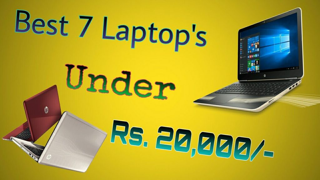 Best Laptops under 20000 INR in India