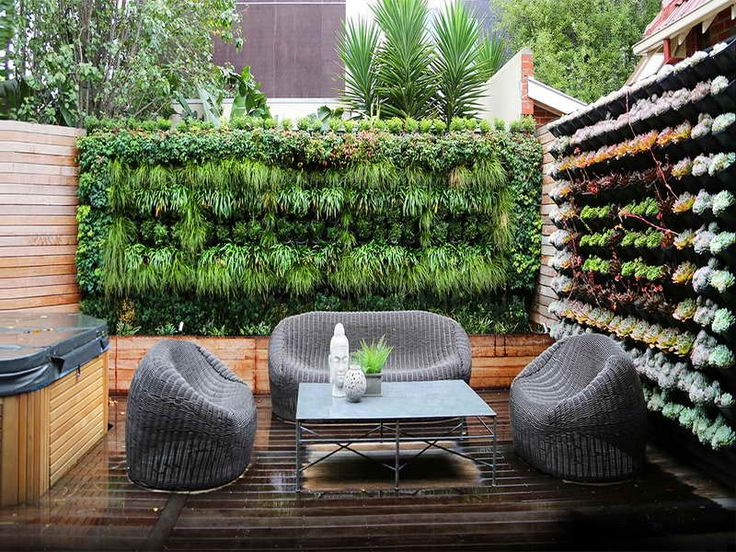 Hanging wall garden, DIY Backyard Ideas & Landscaping Tips