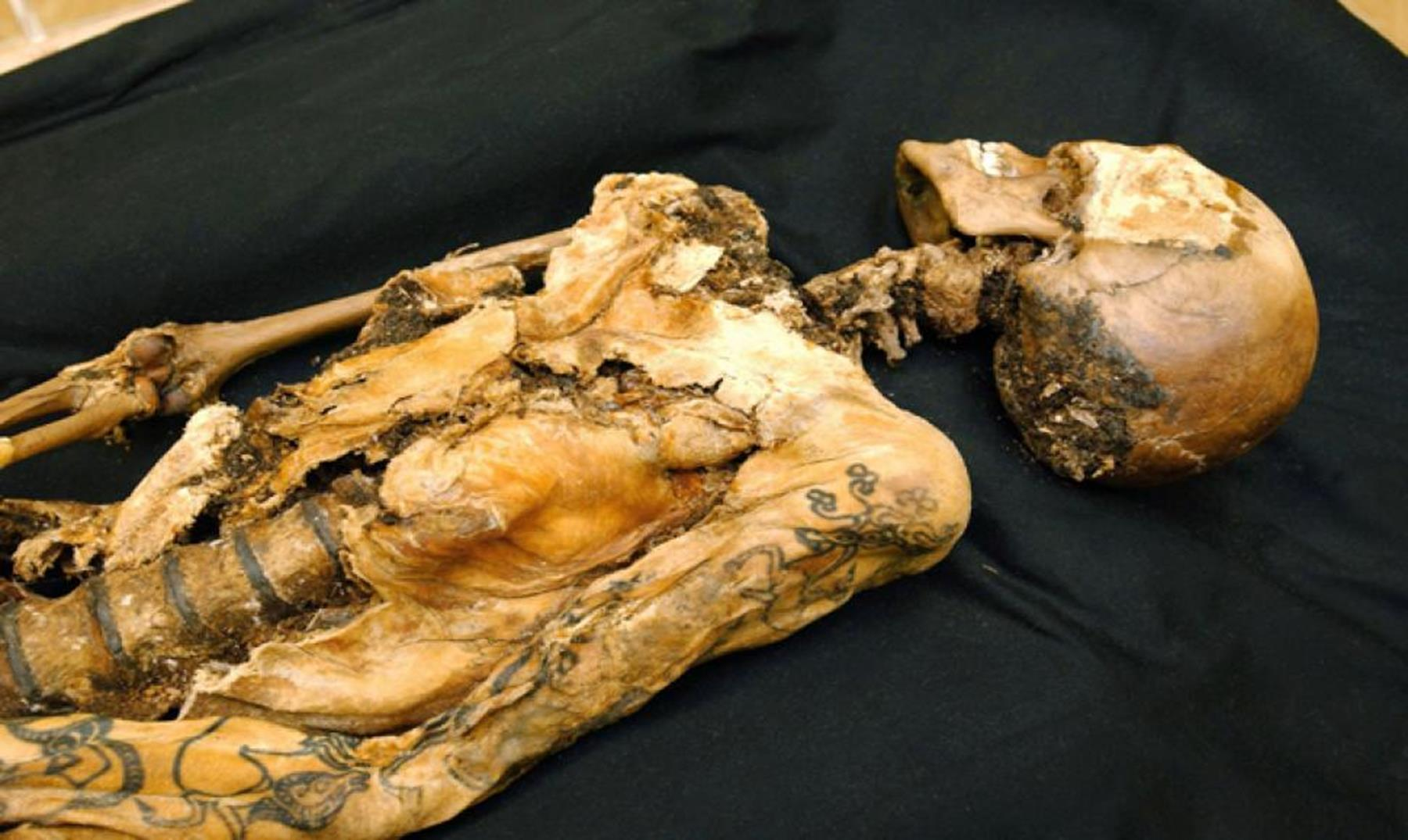 Tattooed Ukok Princess is one of the best preserved bodies in the world