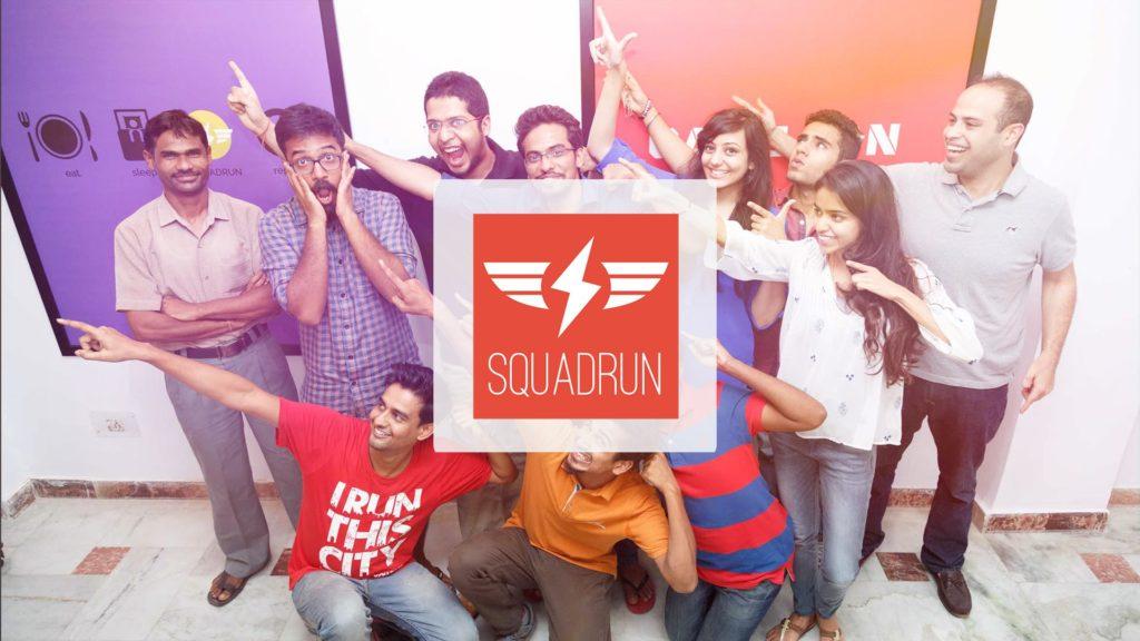 Earn money from SquadRun mobile app