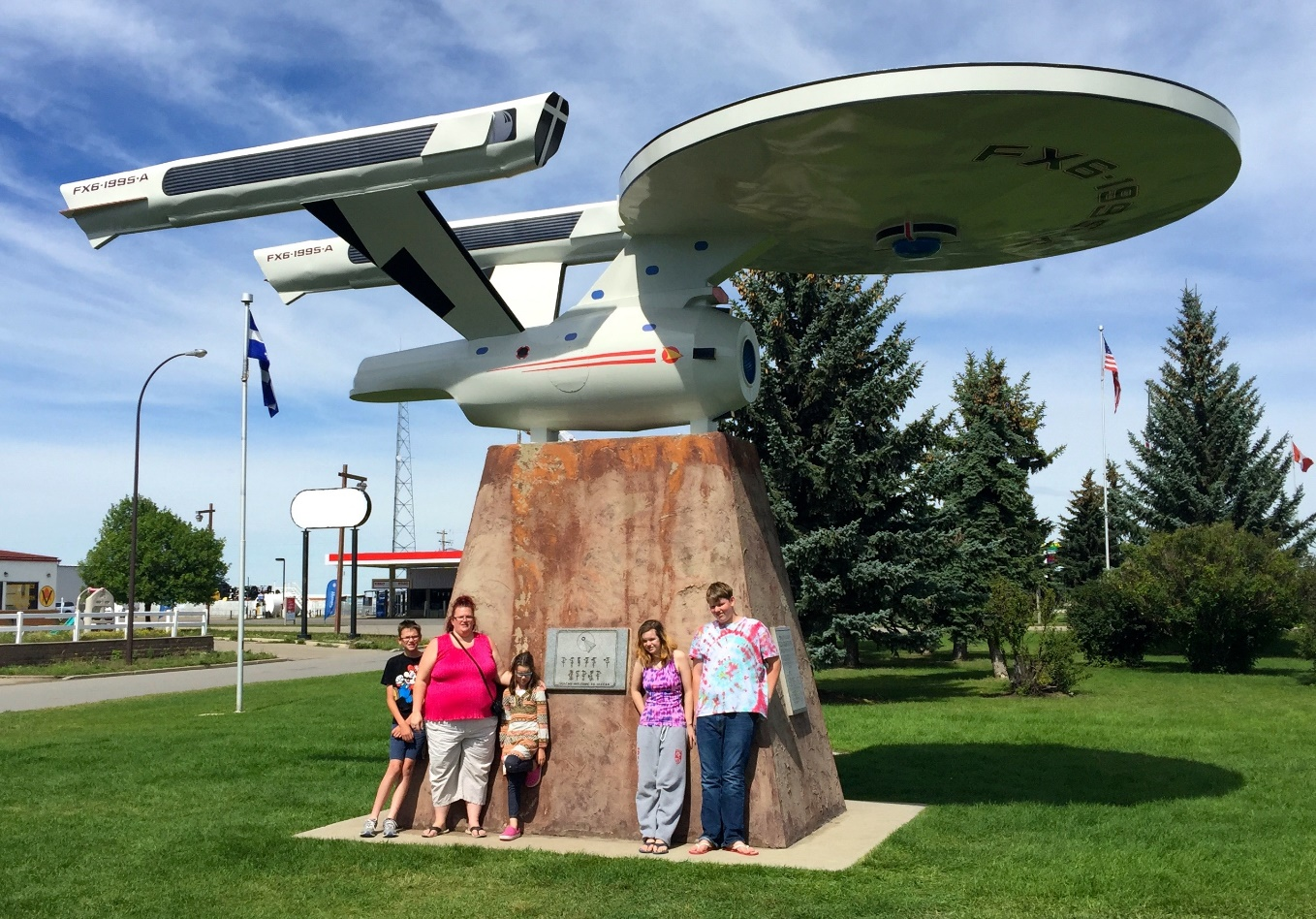 Vulcan (the Trekkie town), Alberta is one of the Best Places in Canada for Holidays