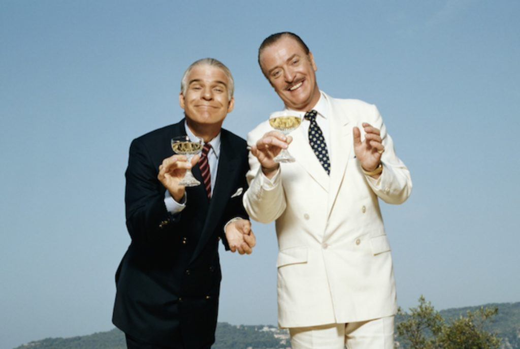 Frank Oz recreated Ralph Levy's Bedtime Story (1964) as Dirty Rotten Scoundrels in 1988