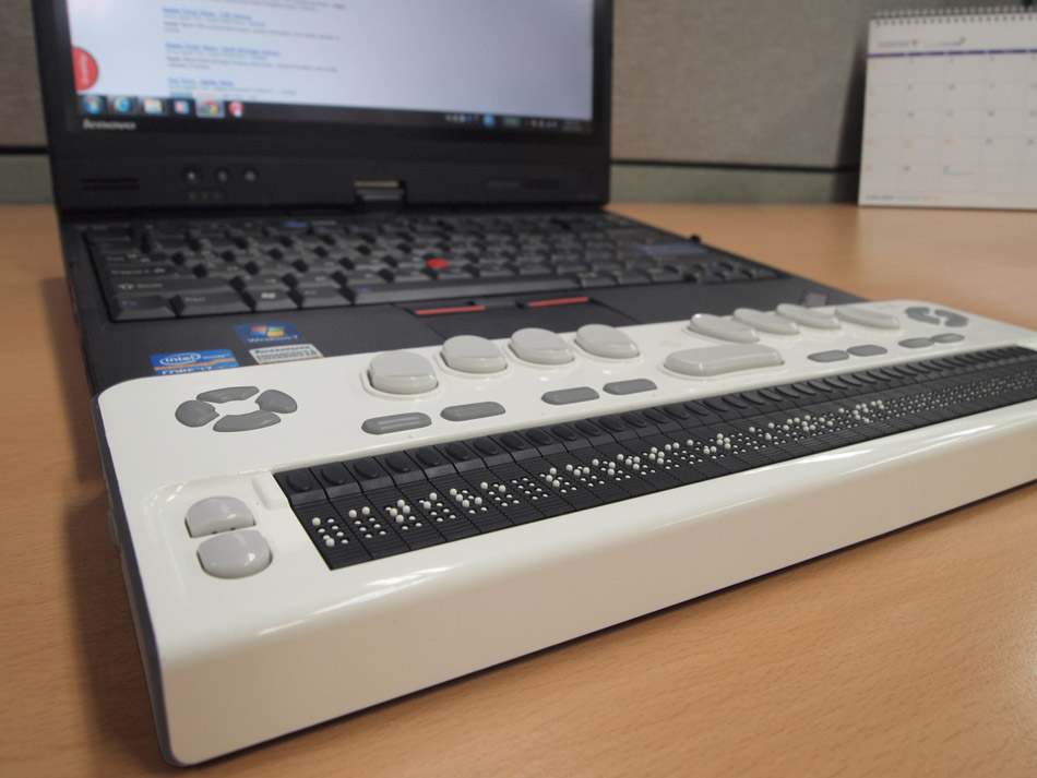 Latest Healthcare Tech Medical Gadgets for the Disabled - Braille EDGE 40 Display