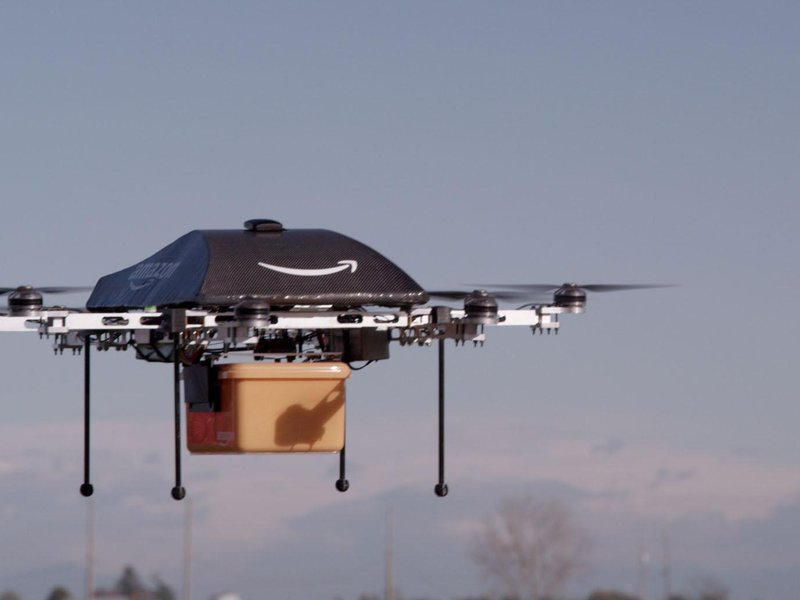 Amazing Future Uses of Drone Technology - Drone as a delivery and transport