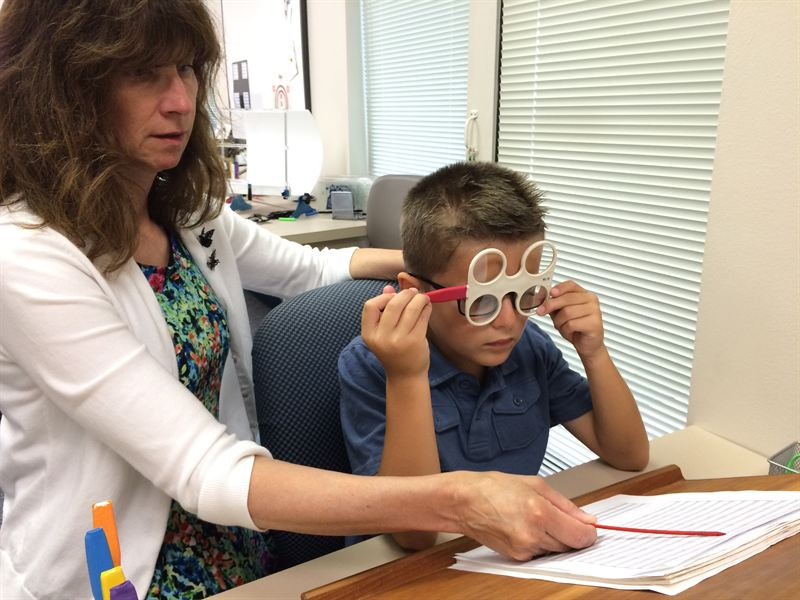 What is vision therapy? Lazy eye correction and disorders by vision therapy