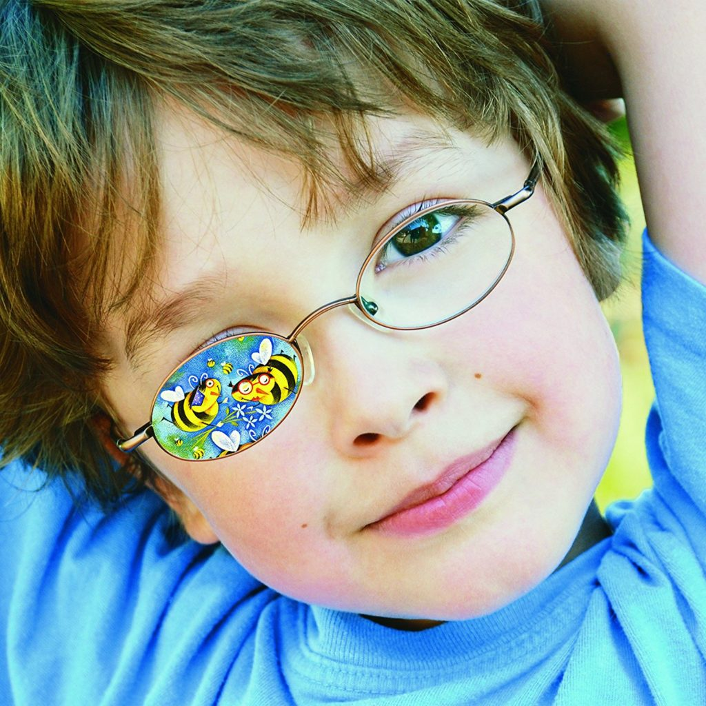 How to help children not feel dizzy when wearing glasses for refractive amblyopia -eye lenses instead of eyeglasses