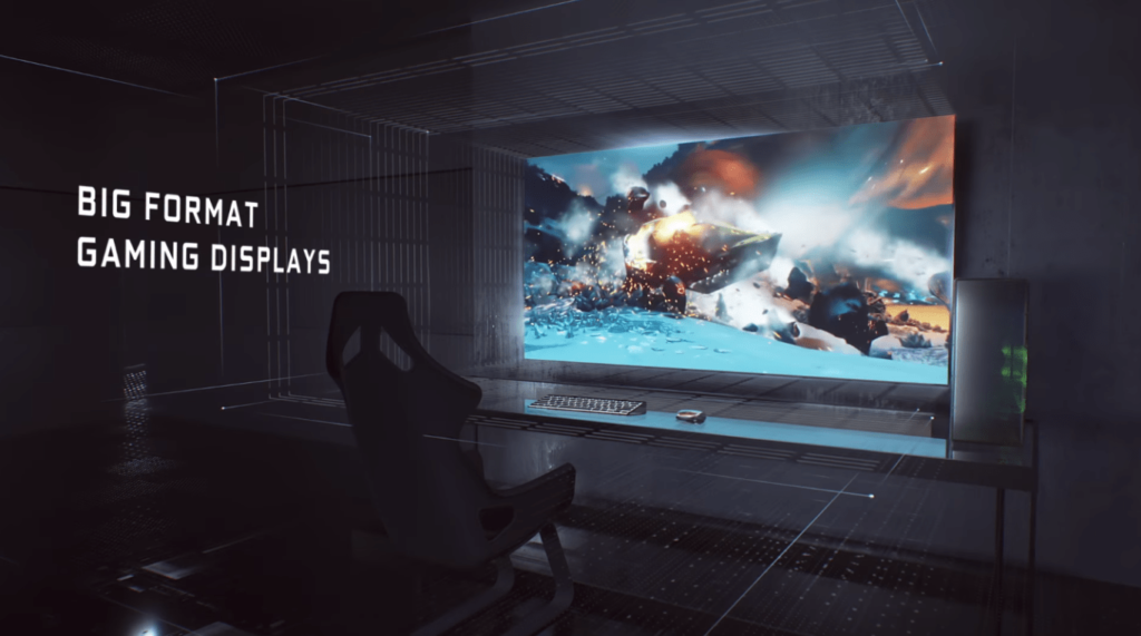 Nvidia BFGD Monitor Redefines Gaming Glory at CES 2018- 65 Inches & 4k HDR Best Gaming Monitor