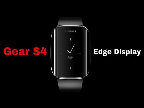 Gear S4 With Edge Screen Display