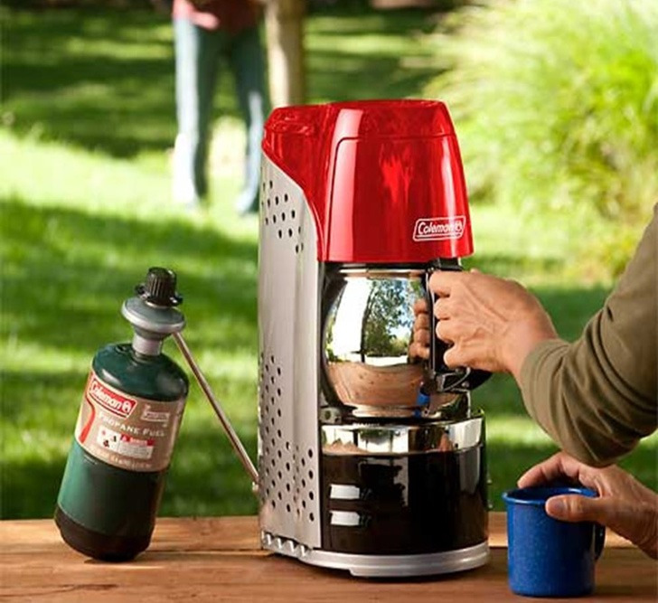 he Coleman Camping Coffee Maker Review