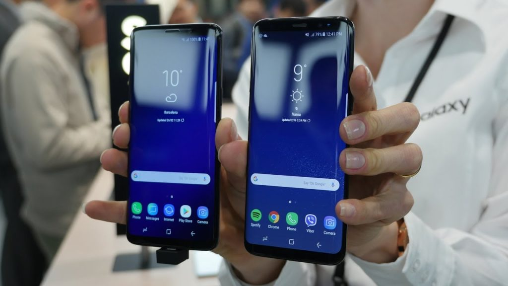Compare Samsung Galaxy S8 and Galaxy S9