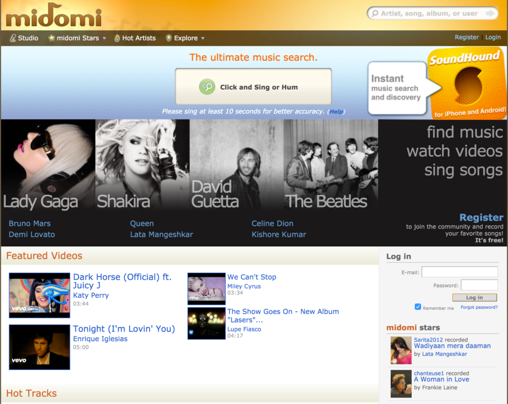 Search Song Names by Lyrics