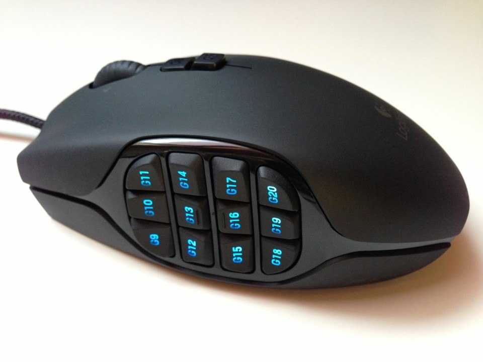The Logitech G600 for League of Legends