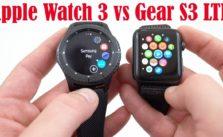 Apple Watch Series 3 vs Samsung Gear S3 frontier