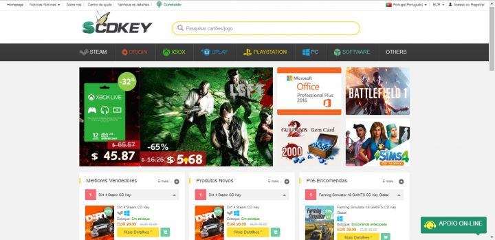 Best Sites like G2A