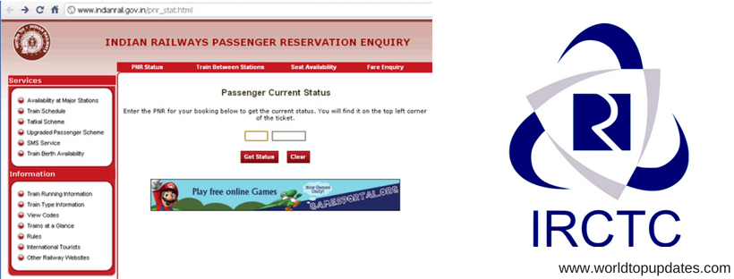 how to check pnr status online