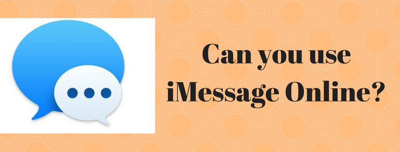 use iMessage Online