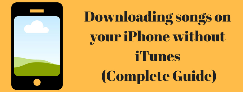 Download songs on your iPhone without iTunes
