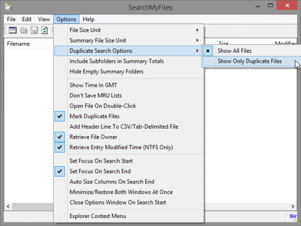 duplicate file finder for windows