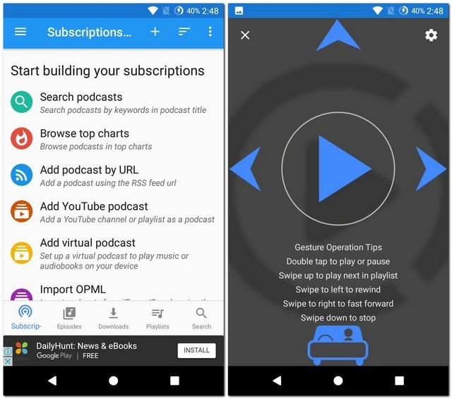 Best Podcasts Apps for Android Phones