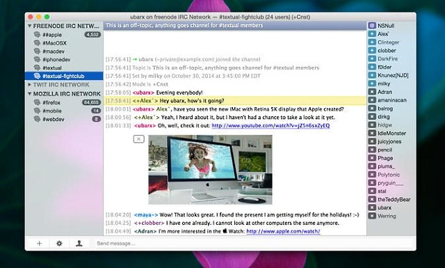 Best irc clients for mac