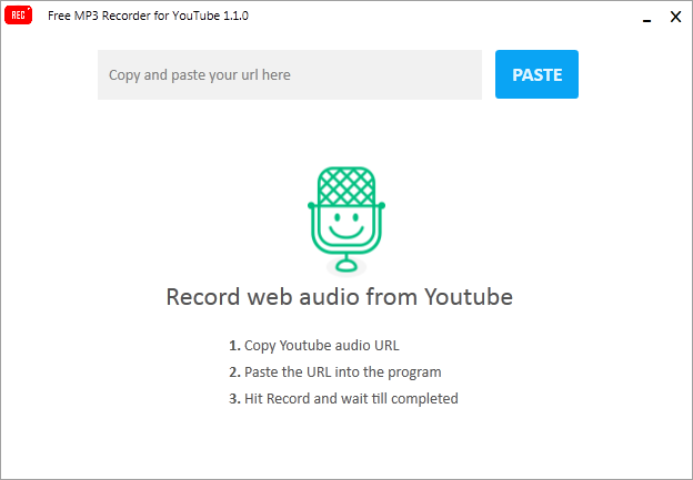 NotMP3 free audio recording software