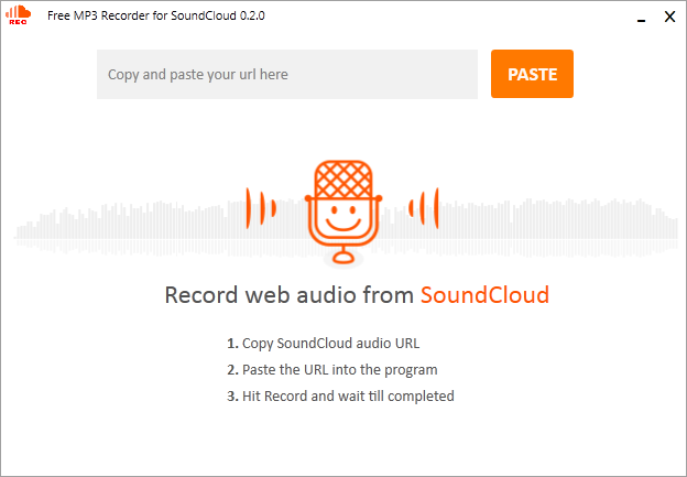 NotMP3 free audio recording software